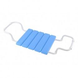 Сиденье в ванну пластиковое на металлической трубе (голубое)