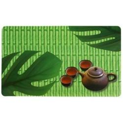 Салфетка сервировочная Зеленый чай 43.5*28.2 см