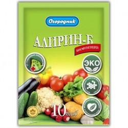 Фунгицид Алирин Б Огородник 10 табл. (50шт.)