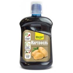 Удобрение органоминеральное жидкое Фаско в бутылках Для Картофеля 500 мл. (9шт.)