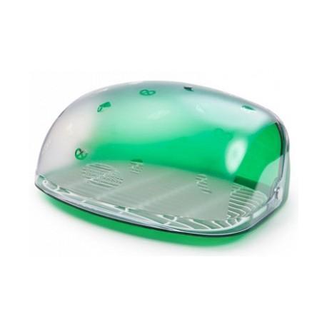 Хлебница Беросси (зеленый полупрозрачный) 300х363х170мм