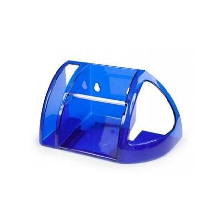Полка для туалета (синий полупрозрачный) 258x134x240мм
