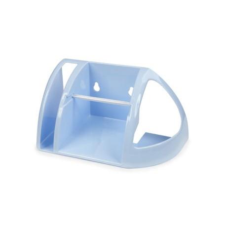 Полка для туалета (светло-голубой) 258x134x240мм