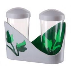 Набор для специй Viola (зеленый полупрозрачный) 61х105х84мм