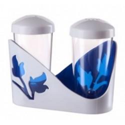 Набор для специй Viola (синий полупрозрачный) 61х105х84мм