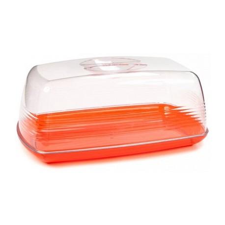 Хлебница настольная Fresh (апельсин) 240х140х101мм