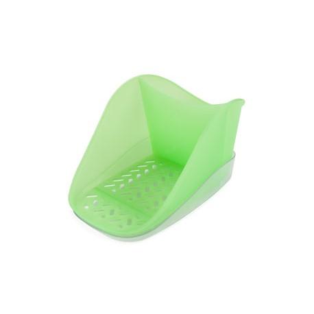 Подставка для моющего средства и губки Teo Plus  (киви) 188х127х99мм