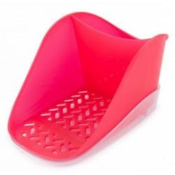 Подставка для моющего средства и губки Teo Plus  (сангрия) 188х127х99мм