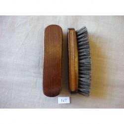 Щетка обувная из натурального волоса, 4 рядная, 140х38