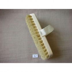 Щетка банная натуральная с ремешком, размер дл. 220 мм, шир. 75 мм
