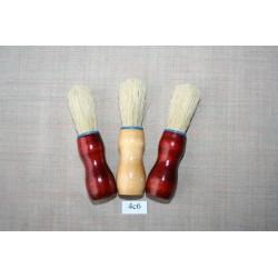 Кисть бритвенная, деревянная ручка натуральная щетина