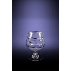 Набор 6 бокалов Эдем для бренди с рисунком Змейка, 410мл [D29-1812]