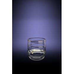 Набор 6 стаканов для виски с рисунком Змейка, 80мл [D29-808]