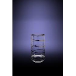 Набор 6 стаканов Эдем для воды с рисунком Змейка, 330мл [D29-809]