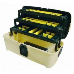 Ящик универсальный с 3 кантилеверами и 2 органайзерами на крышке 18 465х230х250 мм (Е-45)
