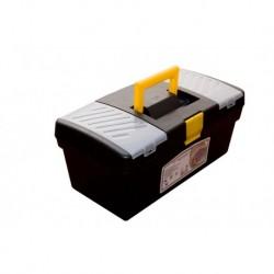 Ящик универсальный лотком и 2 органайзерами на крышке 17 420х220х180мм (А-42
