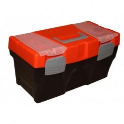 Ящик универсальный с лотком и 2 органайзерами на крышке 23 585х295х295мм (М-60)