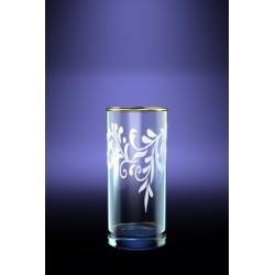 Набор 6 стаканов для сока с рисунком Веточка 290мл.