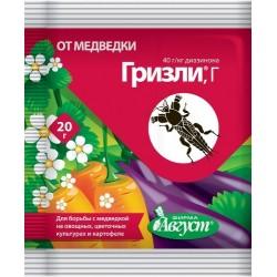 Инсектицид Гризли от медведки 20г (завод уп. 50шт)