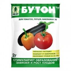 Стимулятор цветения и плодообразования Бутон для томатов, перцев и баклажанов 2г