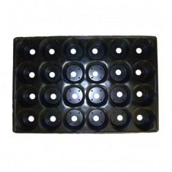 Кассета для рассады 24 ячейки круглые 52х31х5см полистерол
