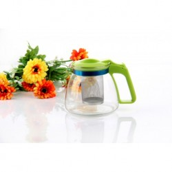 Заварочный чайник 900 мл., жаропрочное стекло, метал. фильтр