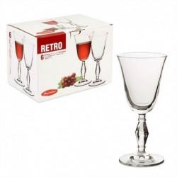 Фужер для вина 236мл 6шт. RETRO