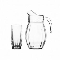 Набор для воды 7пр.: кувшин 2000мл + 6 стаканов DANS