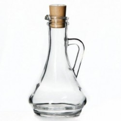 Емкость для масла/уксуса с пласт. пробкой 260мл OLIVIA