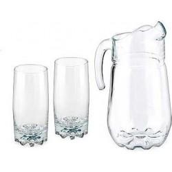 Набор 7пр.: кувшин 1.3л + 6 стаканов выс. SYLVANA