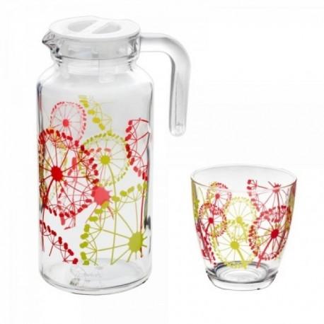 Набор: Кувшин + 6 стаканов FAZENDA (D28242)