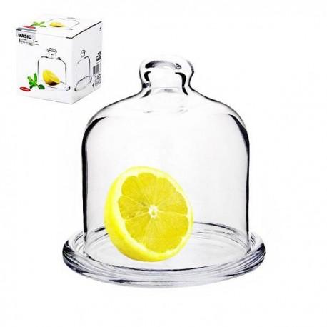Блюдо для лимона с крышкой D-100мм BASIC