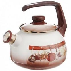Чайник с бак. руч., со свистком 2,5л (115432)