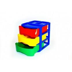 Ящик детский МиниБокс 3 светофор 171*212*196