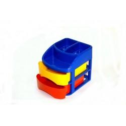 Ящик детский с органайзером МиниБокс 2 светофор 171*212*184