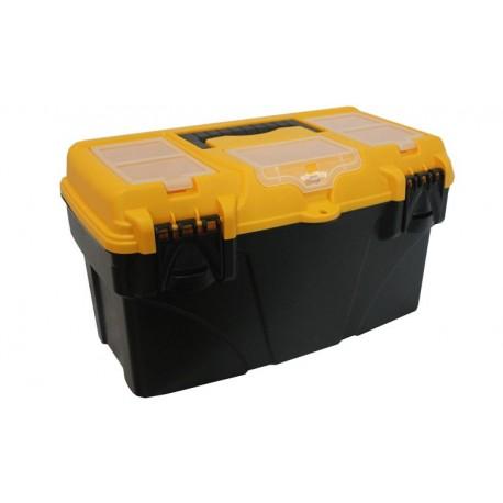 Ящик для инструментов с секциями ТИТАН 16' (215x197x410мм)