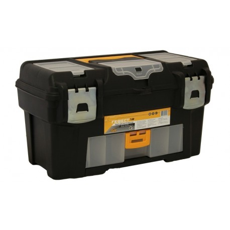 'Ящик для инструментов ГЕФЕСТ 18'' металл замки (2 консоли/секции) (235x250x430мм)'