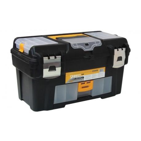 Ящик для инструментов ГЕФЕСТ 18' металл замки (консоль/коробки) (235x250x430мм)