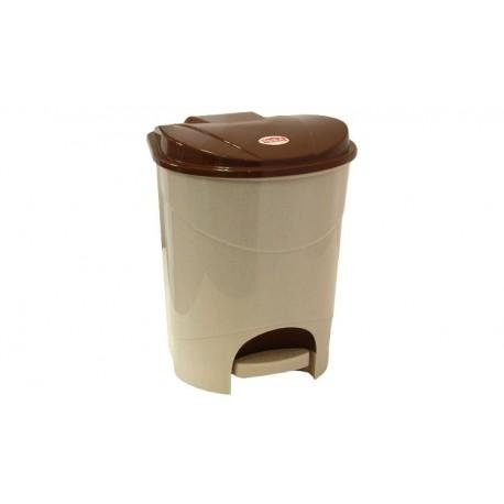 Контейнер для мусора с педалью 7л ( 213x290x230мм) с внутренней вставкой