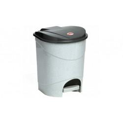 Контейнер для мусора с педалью 19л (297x384x302мм)