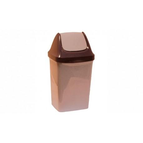 Контейнер для мусора  СВИНГ 15л. (269x430x235мм)