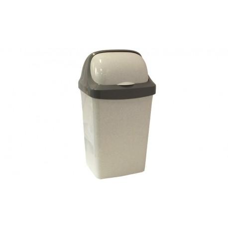 Контейнер для мусора  РОЛЛ ТОП 9л. (228x411x199мм)