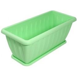 Ящик для растений Фелиция 40 см с поддоном