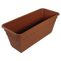 Ящик для растений Колывань 40см с поддоном
