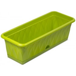 Ящик для растений Сиена 58см с поддоном