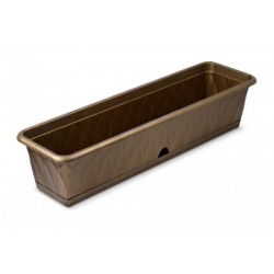 Балконный ящик для растений Сиена 81см с поддоном