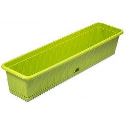 Балконный ящик для растений Сиена 93см с поддоном