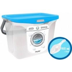 Емкость для стирального порошка 6 л 287х200х200 (голубая лагуна)