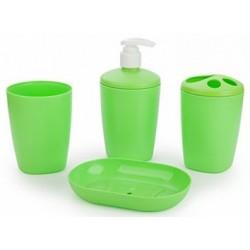 Набор аксессуаров для ванной комнаты Aqua (салатный)