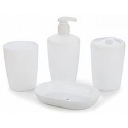 Набор аксессуаров для ванной комнаты Aqua (снежно-белый)